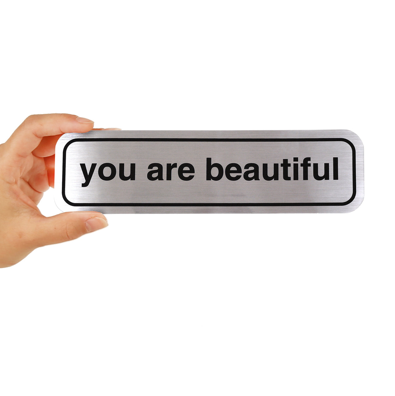 You Are Beautiful Classic Bumper Sticker