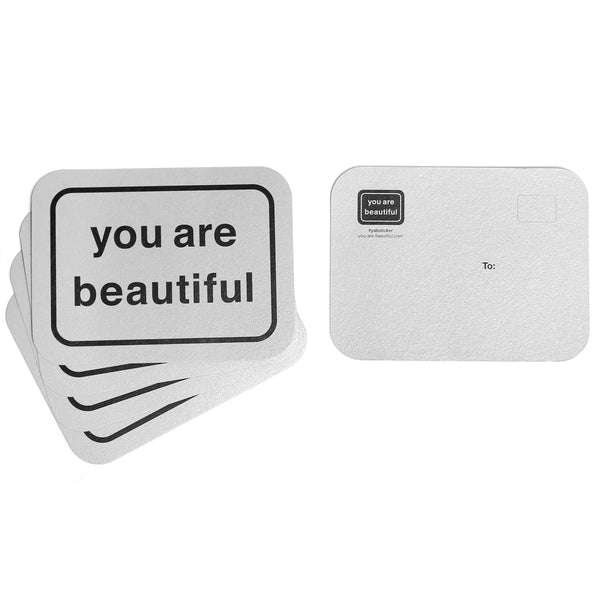You Are Beautiful Postcards