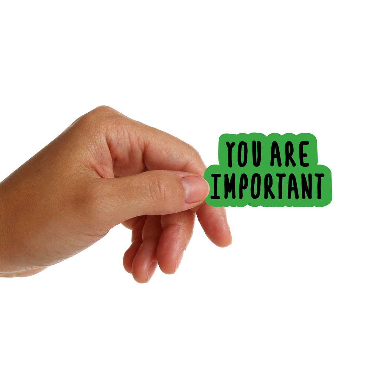 You Are Important Stickers
