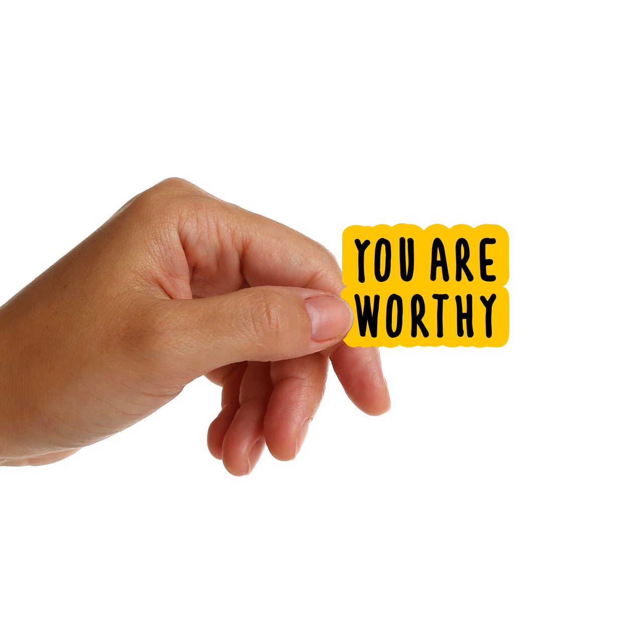 You Are Worthy Stickers