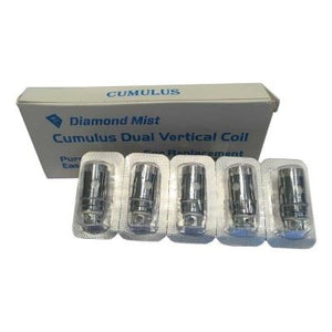 Diamond Mist Mini Cumulus Coils