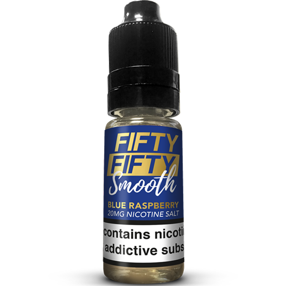 FiftyFifty - Blue Raspberry 20mg Nic Salt 10ml