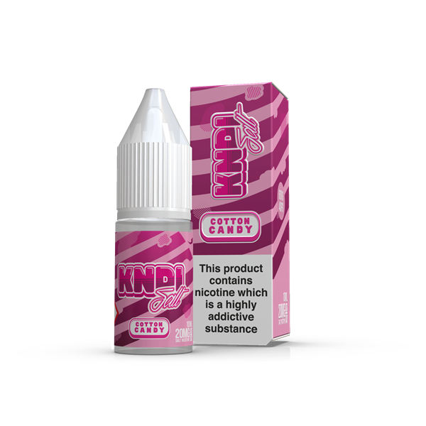 KNDI - Cotton Candy Nic Salt