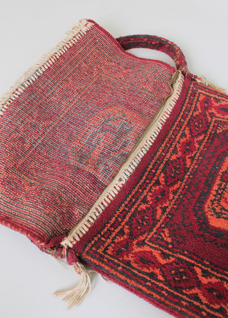 Vintage 1960s Carpet Bag Purse