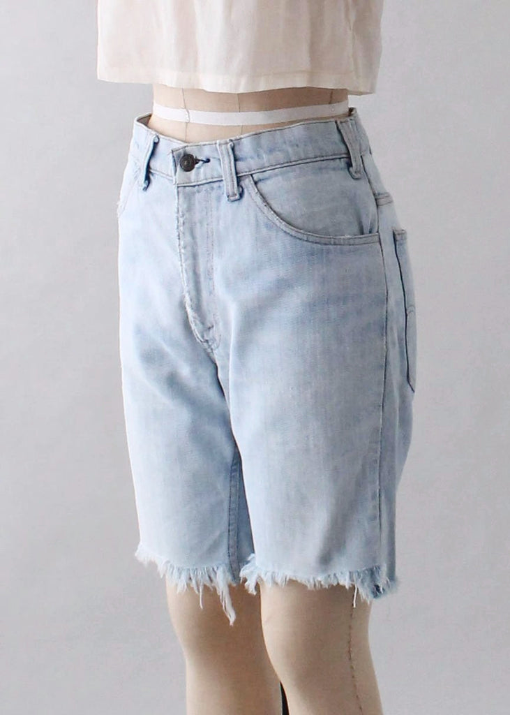 Vintage 1970s Levis Faded Jeans Shorts