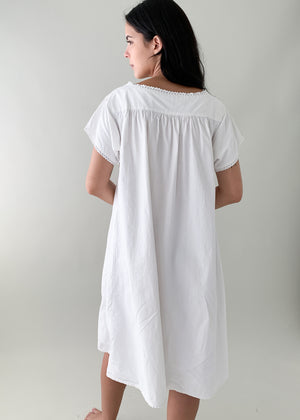Antique Cotton Summer Dress