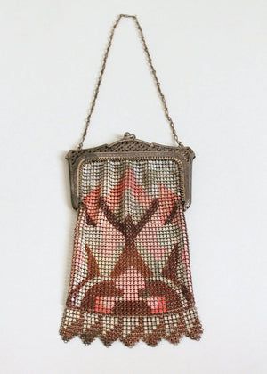 Vintage 1920s Whiting & Davis Mesh Flapper Purse