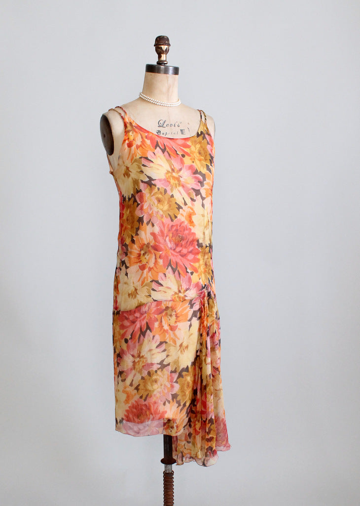 Vintage 1920s gatsby flapper dress