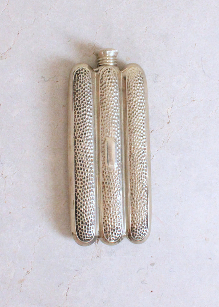 Vintage 1920s Cigar Case Shaped Flask