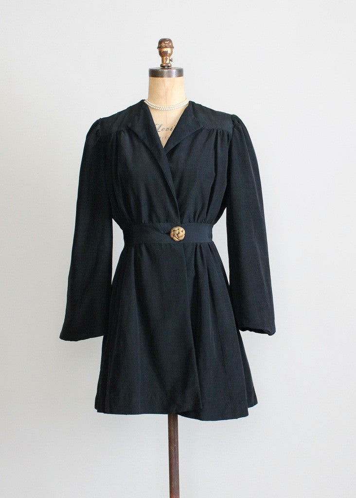 Vintage 1930s Princess Cut Coat