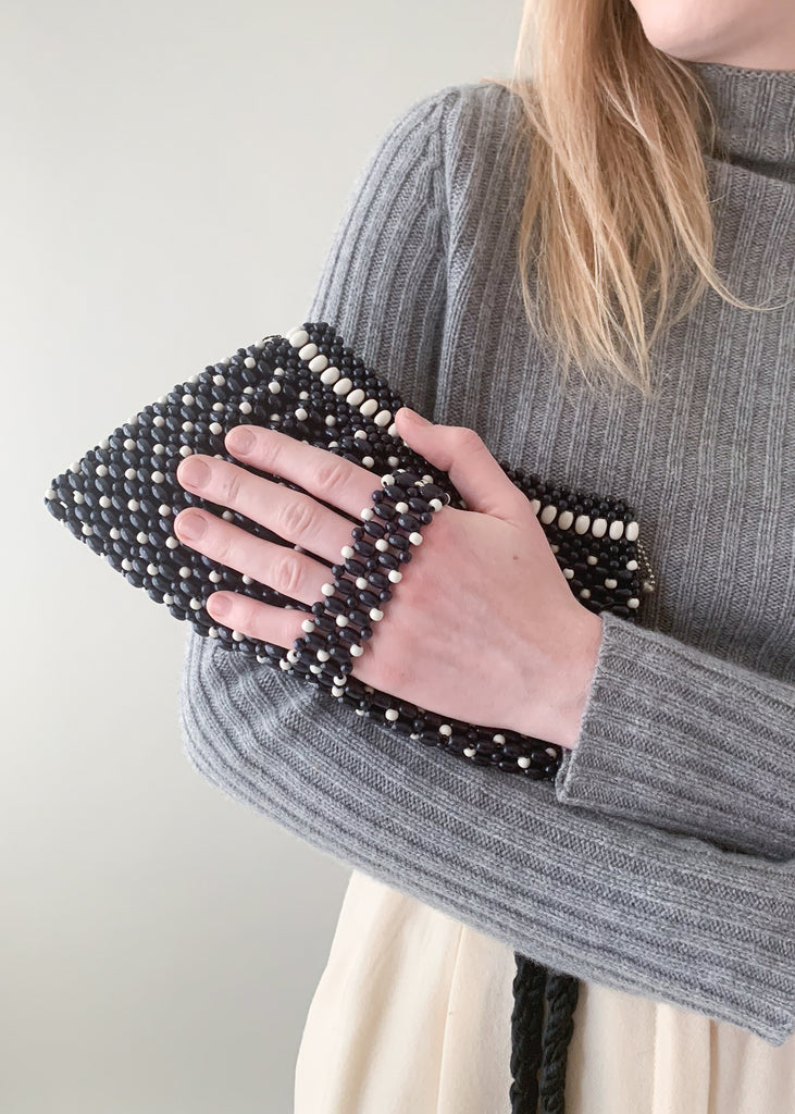 Vintage 1930s Beaded Clutch Purse