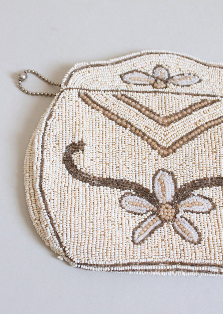Vintage 1930s Micro Beaded Evening Bag