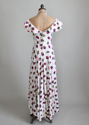 1930s cotton pique dress