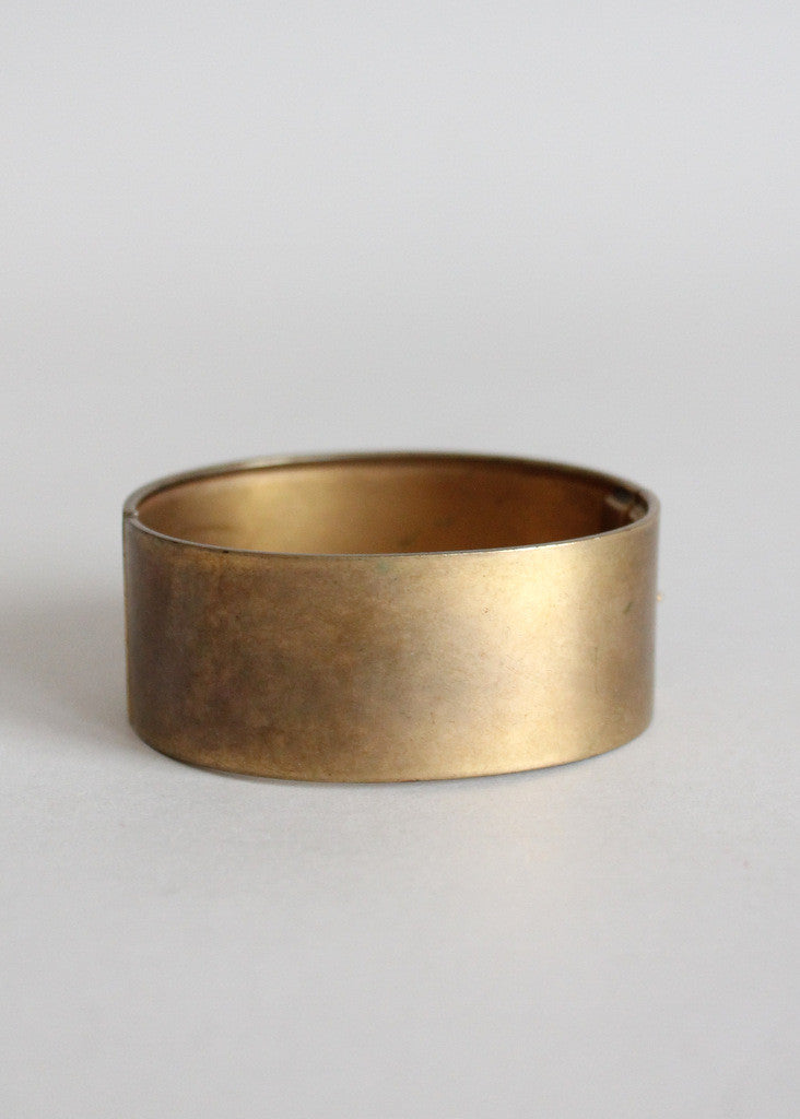 Vintage 1940s Scottie Dog Brass Bracelet