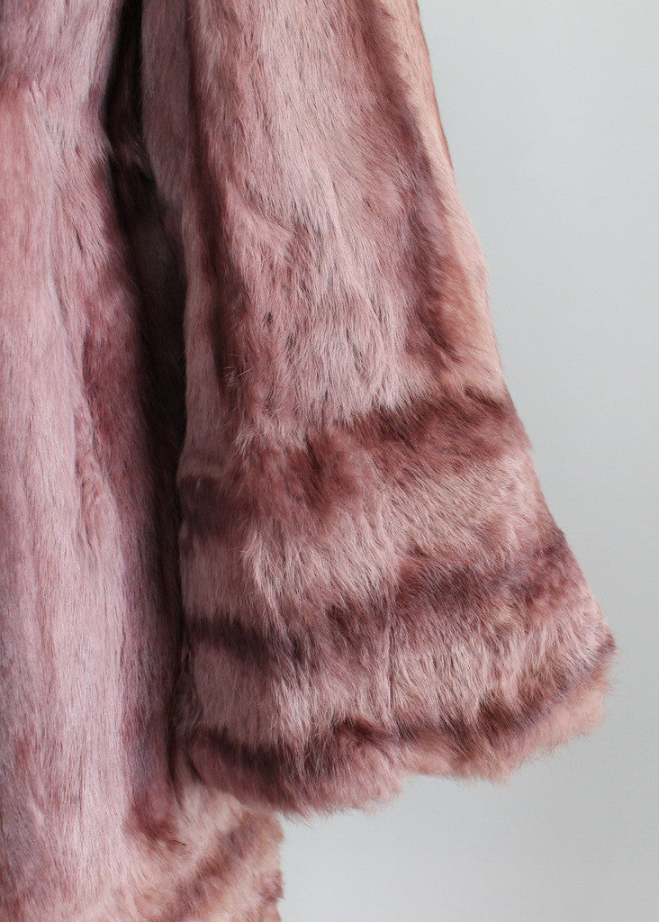 Vintage 1940s Hollywood Hills Fur Coat