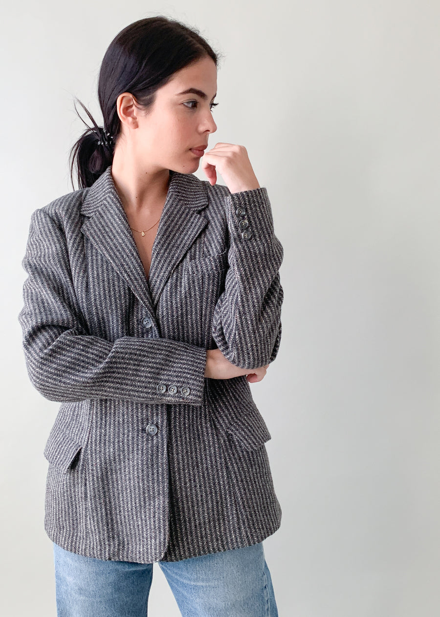 Vintage 1940s Classic Tweed Jacket