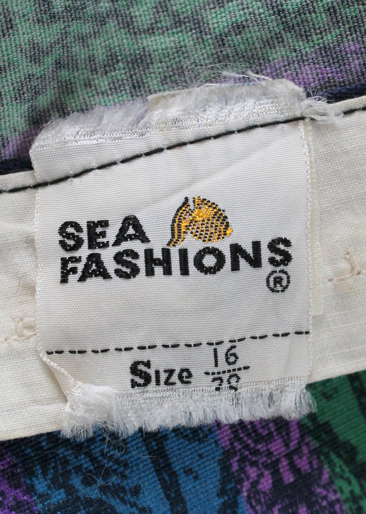 Vintage 1950s Sea Fashions Bombshell Swimsuit