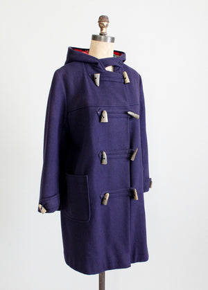 1950s Navy Duffle Coat