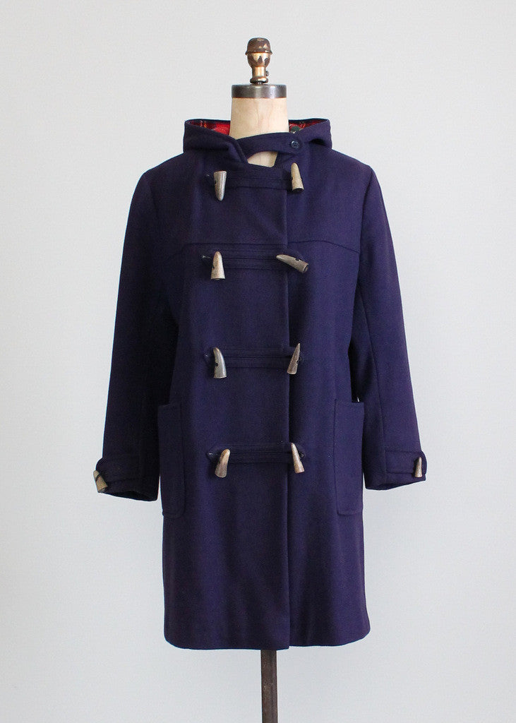 1950s English Toggle Coat