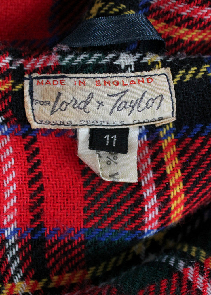 Vintage 1950s English Horn Toggle Duffle Coat