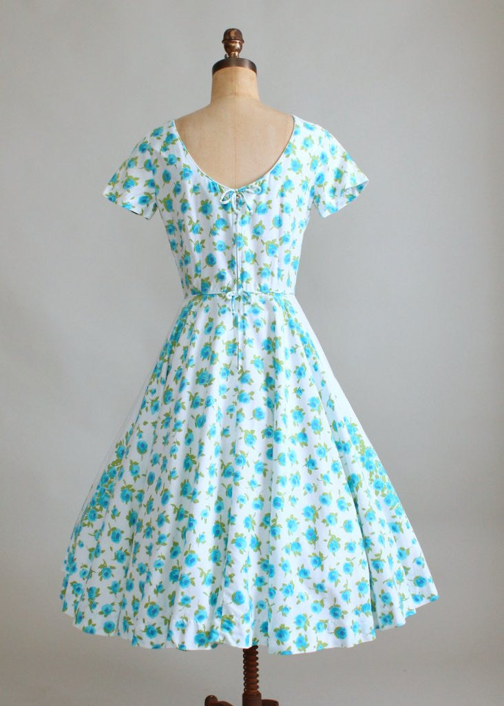 Vintage 1950s Liberty House Floral Day Dress