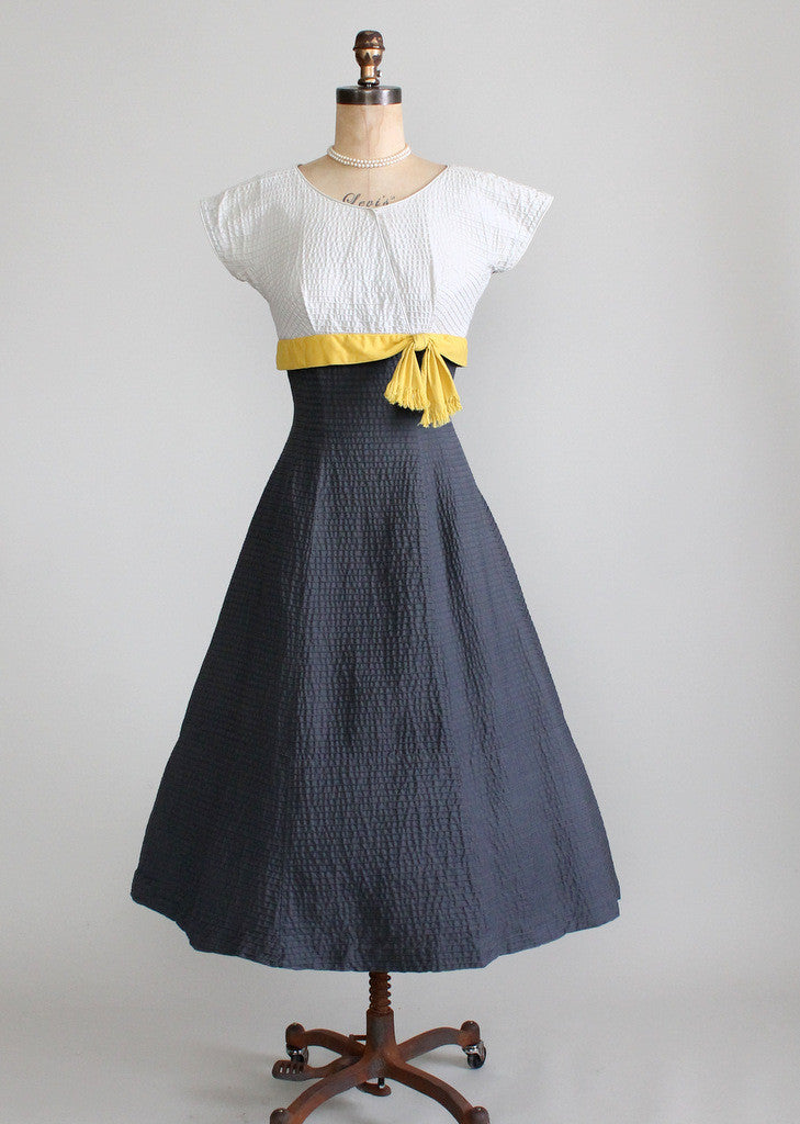 1950s Parnes Feinstein Dress