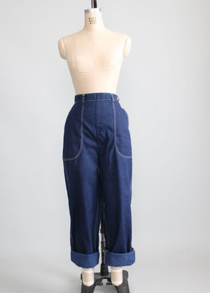 Vintage 1950s Penney's Ranch Craft Jeans NOS