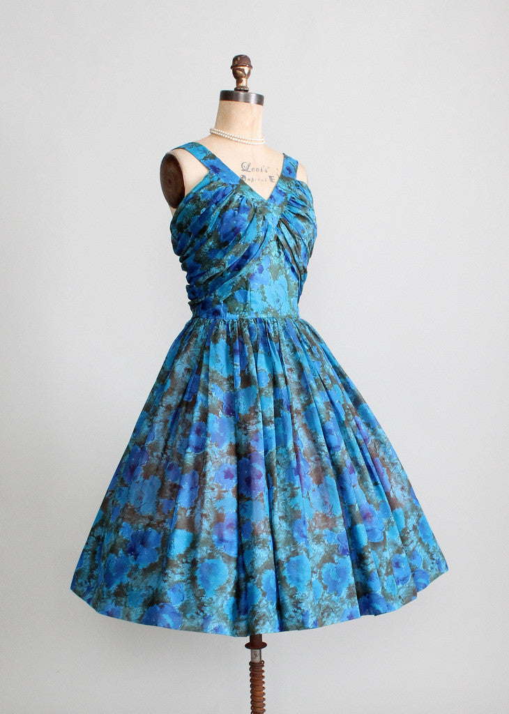 Vintage 1950s Justin McCarty Party Dress