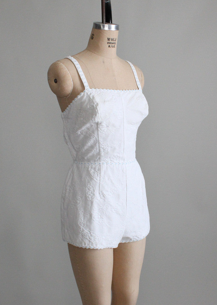 1950s pin up playsuit