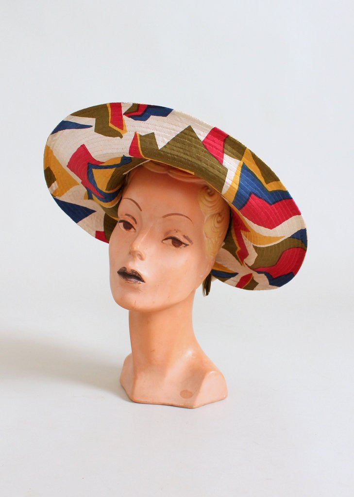 6d7bf0da6bdb5 FREE shipping on US orders over  200 (some exceptions apply). Home    Products   Vintage 1960s Jack McConnell MOD Beach Hat