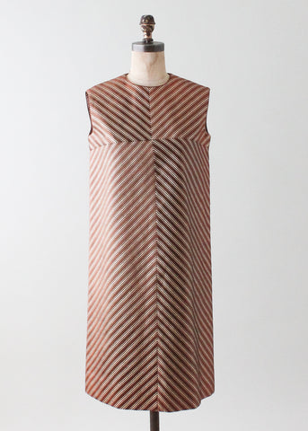 Vintage 1960s Jean Patou MOD Cocktail Dress