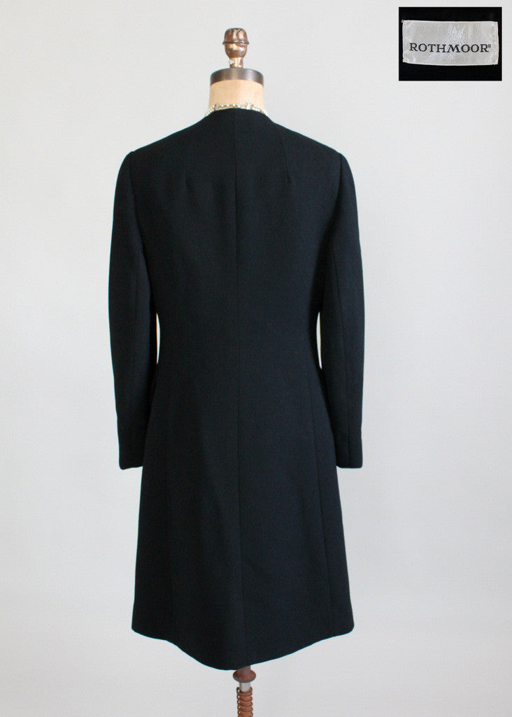 Vintage 1960s Rothmoor MOD Winter Coat