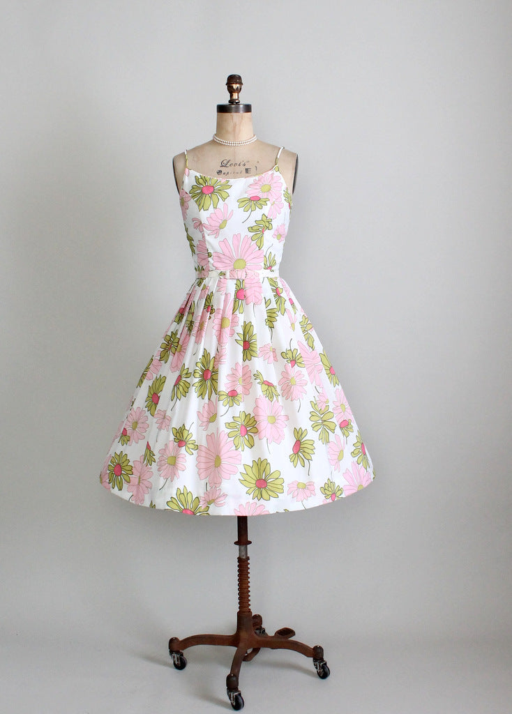 1960s floral sundress