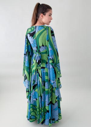 Vintage 1970s Jean Varon Jamaica Dress