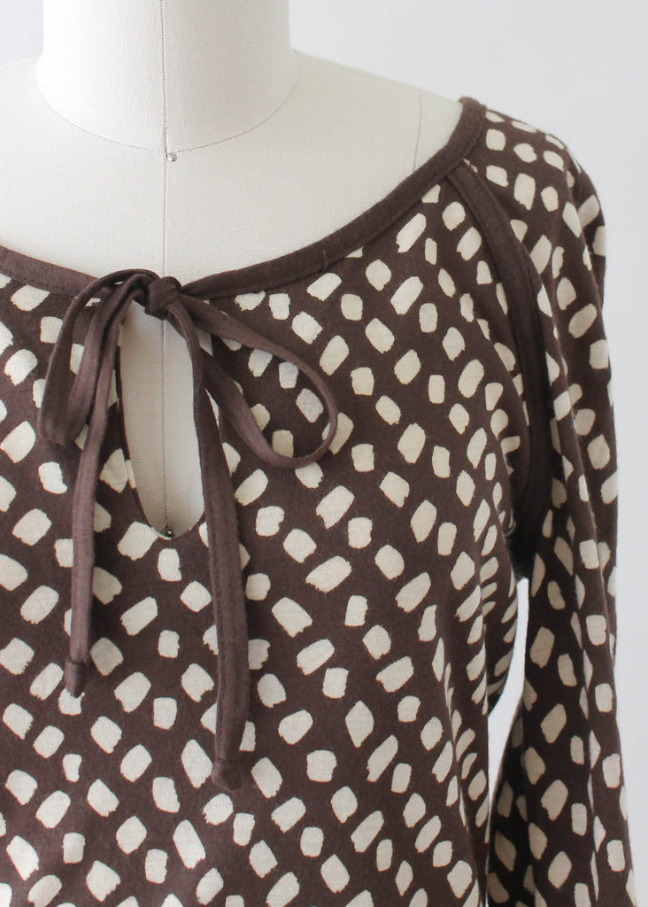 Vintage 1970s Diane Von Furstenberg Jersey Day Dress