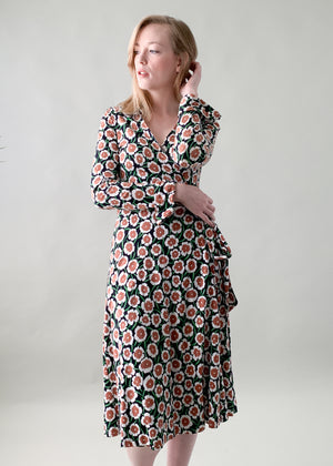 Vintage 1970s Diane Von Furstenberg Wrap Dress