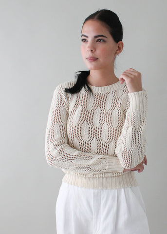 Vintage 1970s Pierre Cardin Cotton Sweater