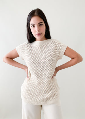 Vintage 1970s Late Summer Knit Tunic