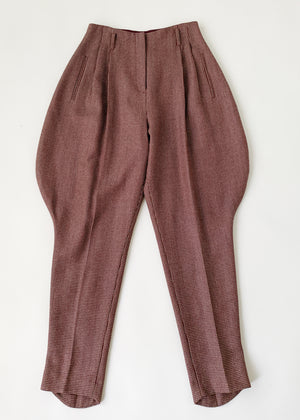 Vintage Norma Kamali Riding Pants