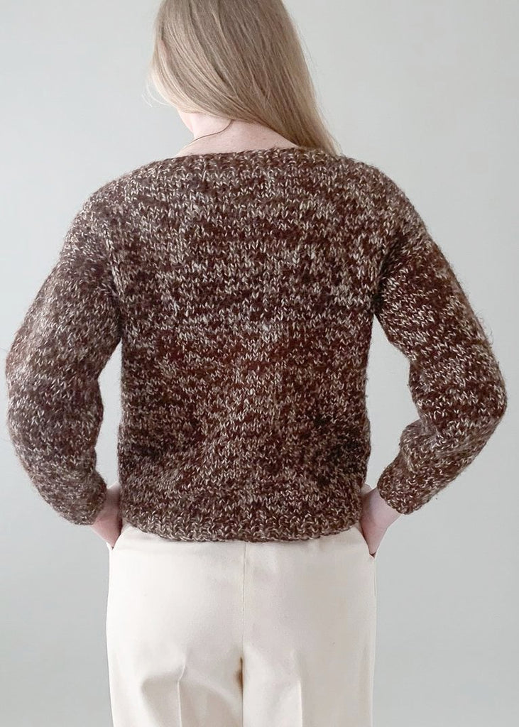 Vintage 1960s Brown Sweater