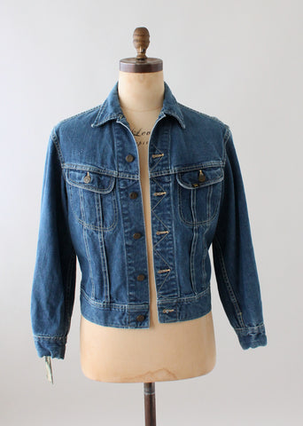 Vintage 1960s LEE Denim Jean Trucker Jacket