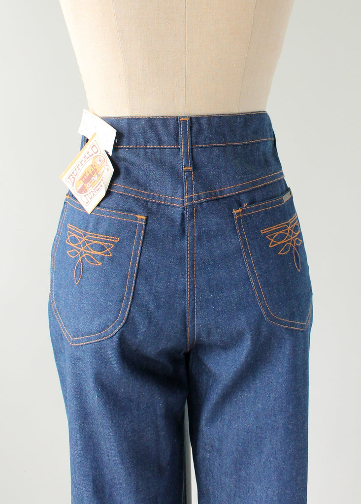 Vintage 1970s Deadstock Buffalo Junction Jeans