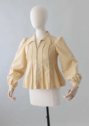 Vintage 1970s Judy Hornby London Swing Jacket