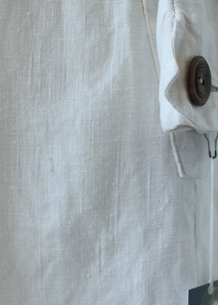 Vintage 1930s NRA Label Art Deco Linen Suit