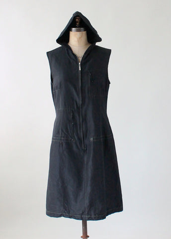 Uli Schneider Sporty Hoodie Dress