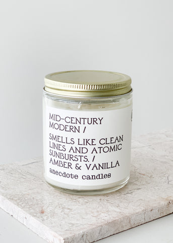 Mid-Century Modern Anecdote Candle