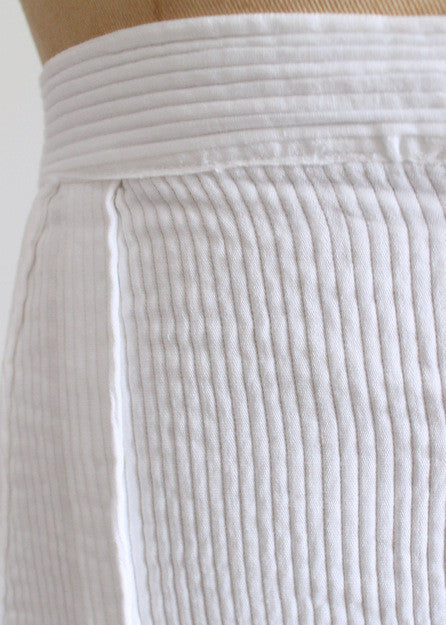 Vintage 1920s Cotton Tennis Skirt
