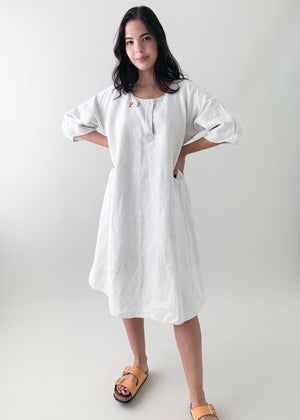 Antique French Linen Dress