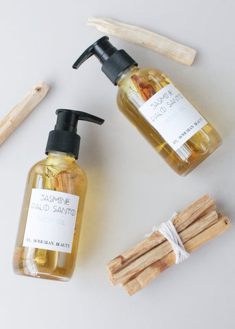 Jasmine Palo Santo Body Oil
