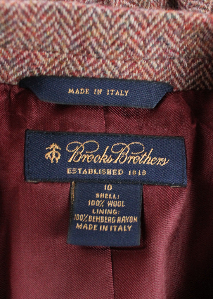 Dating brooks brothers labels